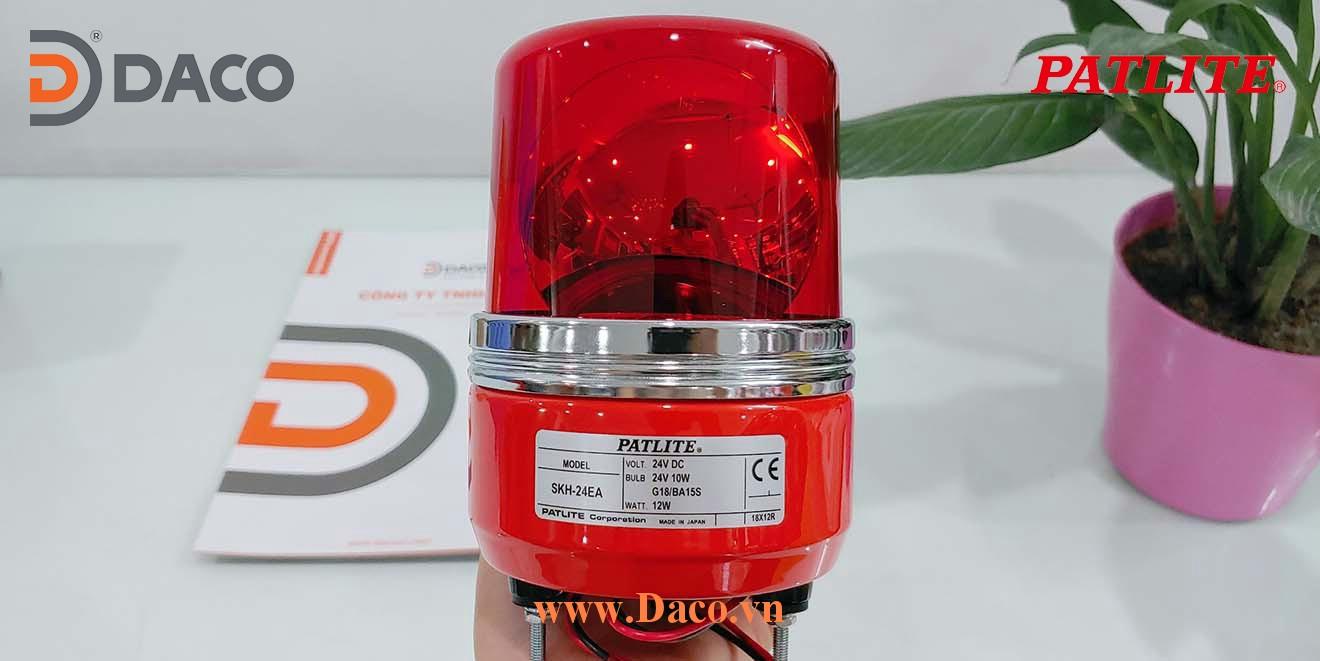 SKH-EA Hình ảnh thực tế Đèn quay chuyên dụng cảnh báo tín hiệu cho xe nâng Patlite