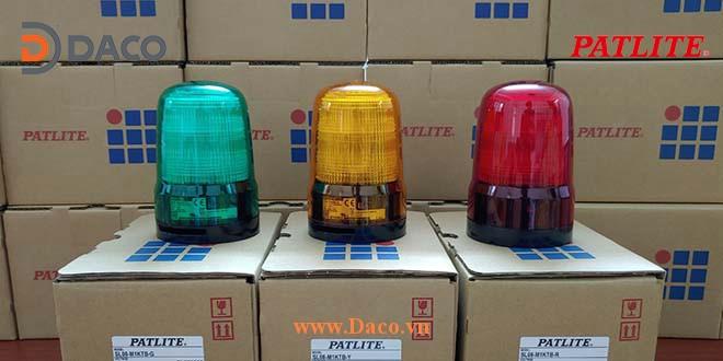 SL08 Hình ảnh thực tế Đèn báo hiệu Patlite Nhật Bản Φ80
