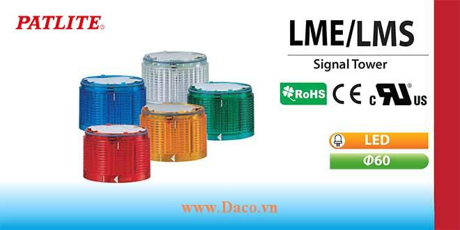 LME-R-Y-G-B-C Module tầng màu đèn tháp Φ60 LME-LMS Patlite