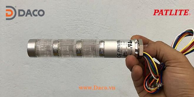MES Hình ảnh thực tế Đèn tháp báo hiệu tín hiệu cảnh báo Φ25 Patlite