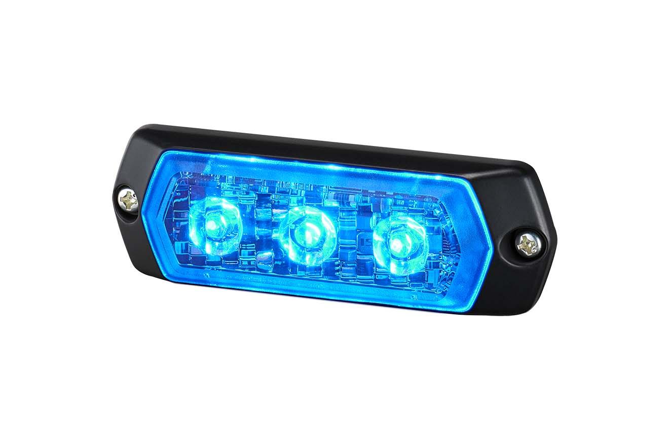 LPT-1M1-R Đèn báo hiệu Patlite dẹt Bóng LED Nhấp nháy IP68
