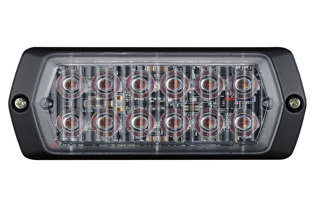 LPT-2M1-R Đèn báo hiệu Patlite dẹt Bóng LED Nhấp nháy IP68