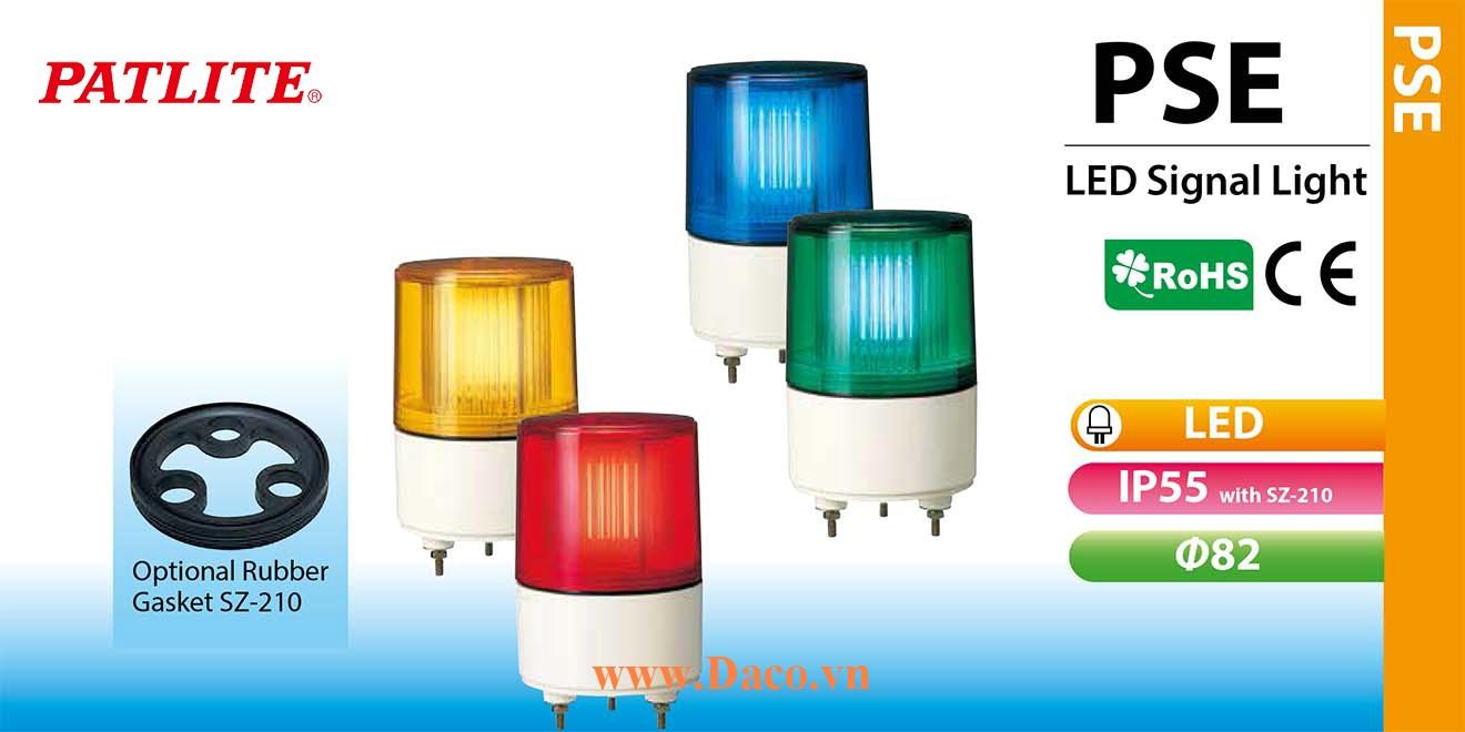 PSE-M2-B Đèn nhấp nháy báo hiệu Patlite Φ82 Bóng LED IP23