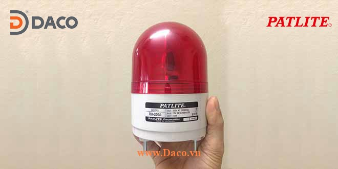 RH Hình ảnh thực tế Đèn cảnh báo tín hiệu báo hiệu Patlite