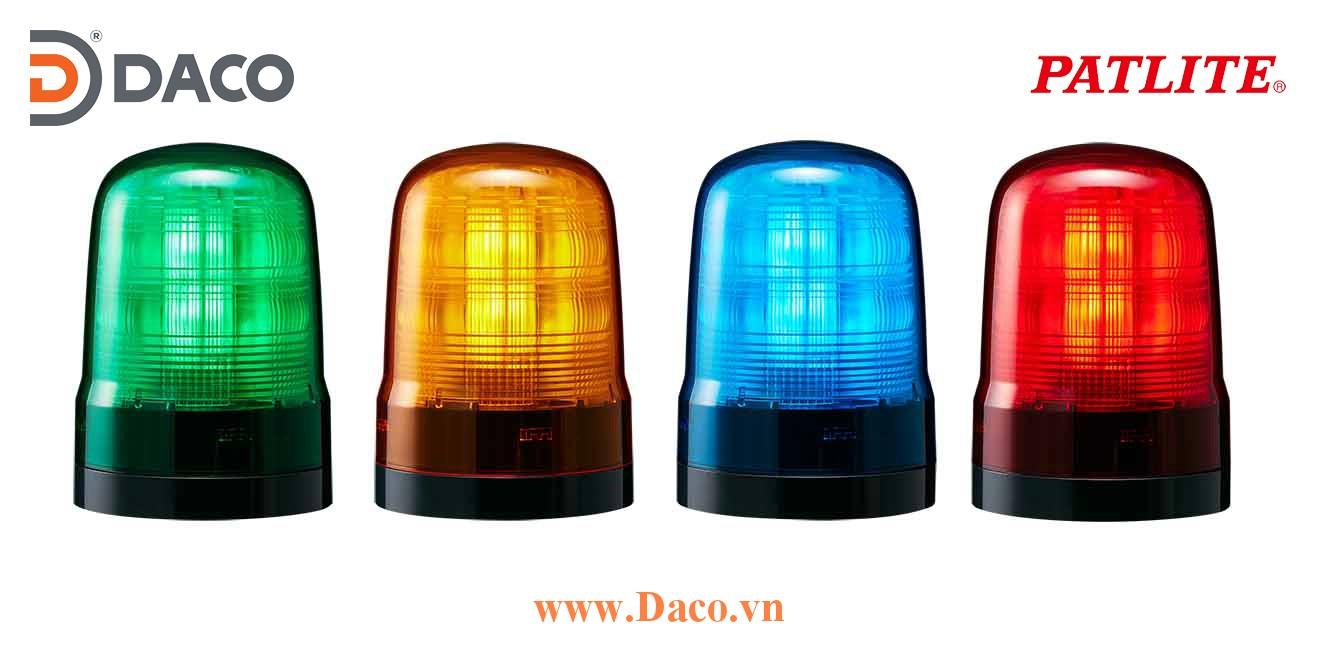 SF08-M2KTB-R Đèn báo hiệu đa chức năng Patlite Φ80 Bóng LED IP66