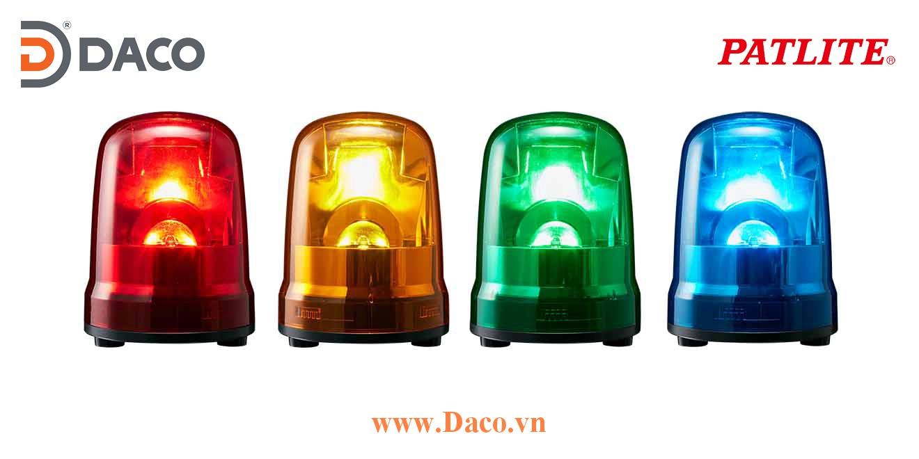 SKP-M2TN-R Đèn quay báo hiệu Patlite Φ150 Bóng LED IP23