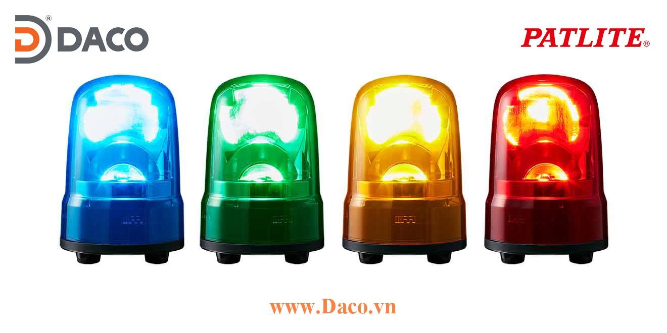 SKS-M2TN-R Đèn quay báo hiệu Patlite Φ80 Bóng LED IP23