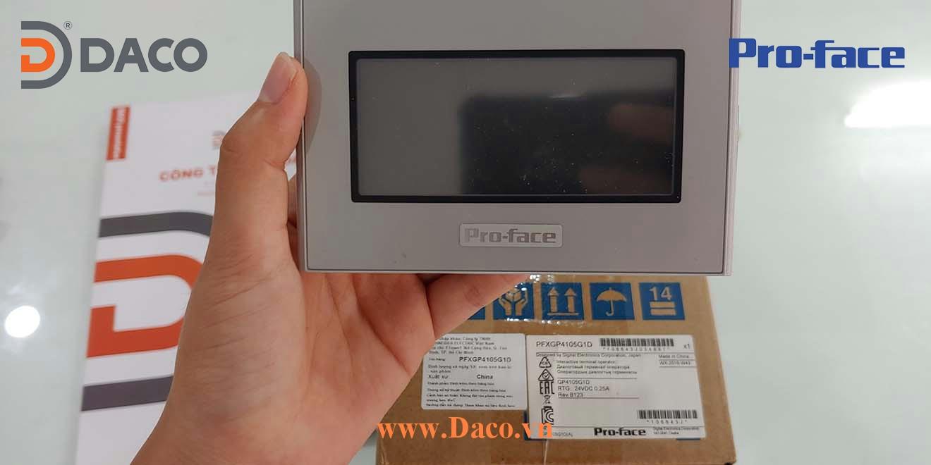 PFXGP4105G1D Hình ảnh thực tế Màn hình cảm ứng HMI Proface 3.4 Inch