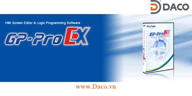 GP-Pro EX V4 Phần mềm lập trình màn hình cảm ứng HMI Proface