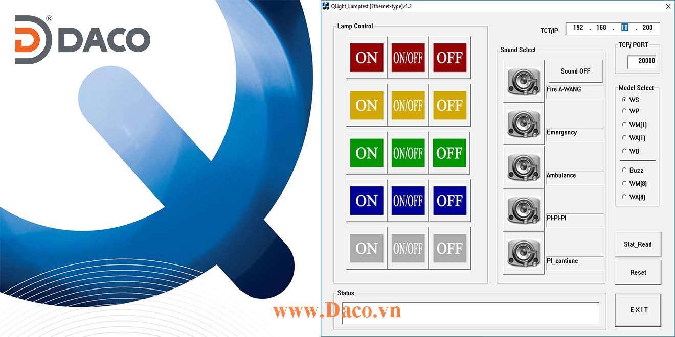 ETN-PC Program Tài liệu Chương trình hướng dẫn về đèn tháp Ethernet