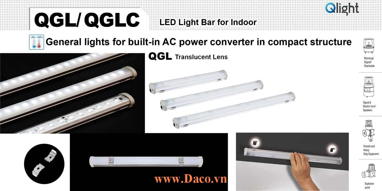 QGLC-500 Đèn LED chiếu sáng tủ điện Qlight Bóng LED Dài 500 mm