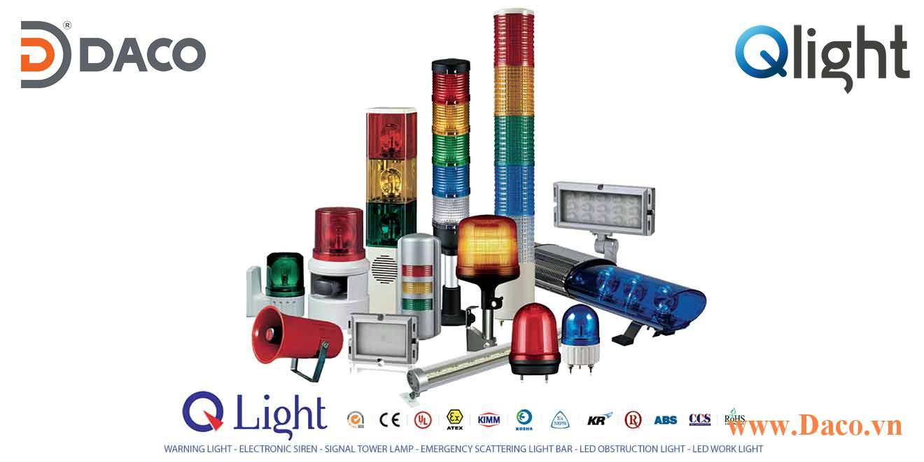 Các loại chứng chỉ sản phẩm Đèn loa còi báo hiệu Qlight