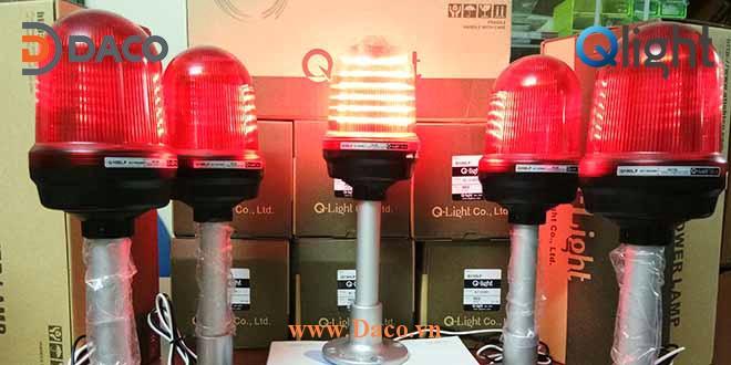 Q100LP Hình ảnh thực tế Đèn báo hiệu Qlight Hàn Quốc