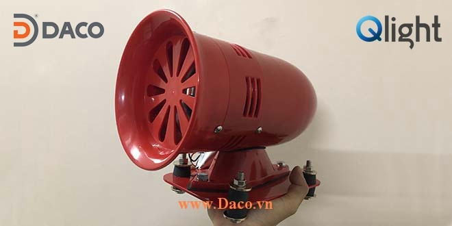 SM400 Thuc Te-Hình ảnh thực tế sản phẩm Còi báo động bằng động cơ Công suất lớn 123dB SM400 Qlight