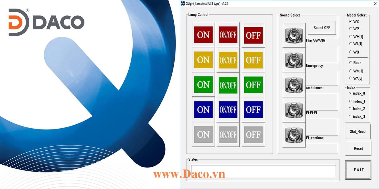 USB-PC Program Tài liệu Chương trình hướng dẫn về đèn tháp USB