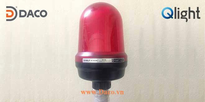 Q100LP Hình ảnh thực tế Đèn báo hiệu cảnh báo tín hiệu Qlight IP65