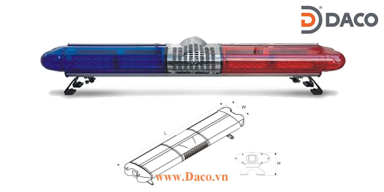 TBD020000 Đèn LightBar dài xe ưu tiên Senken 1070/1200x300x195mm