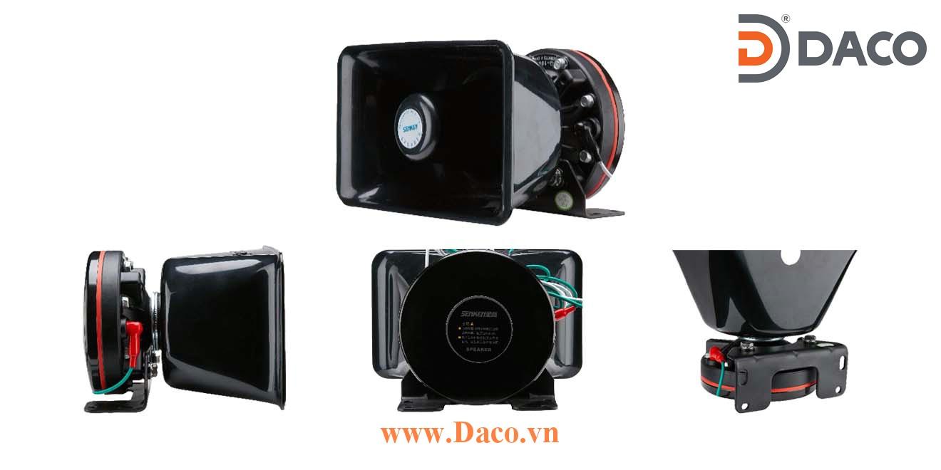 YD200I Loa bát cho bộ tạo tín hiệu còi hú xe ưu tiên Senken 200W