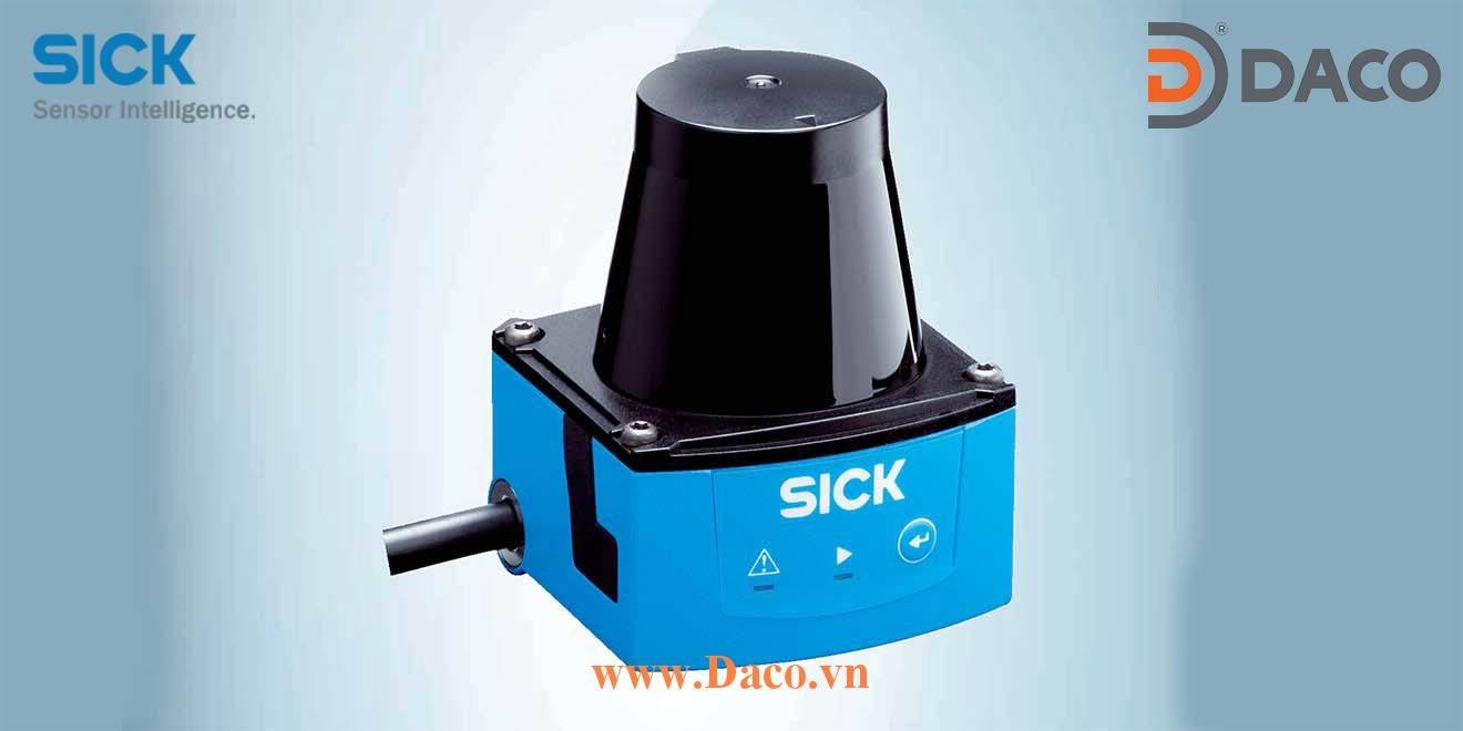 BAS320E Hệ thống cảnh báo va chạm lùi xe nâng Forklift Sick Trong nhà 2m Điện áp 12VDC-80VDC