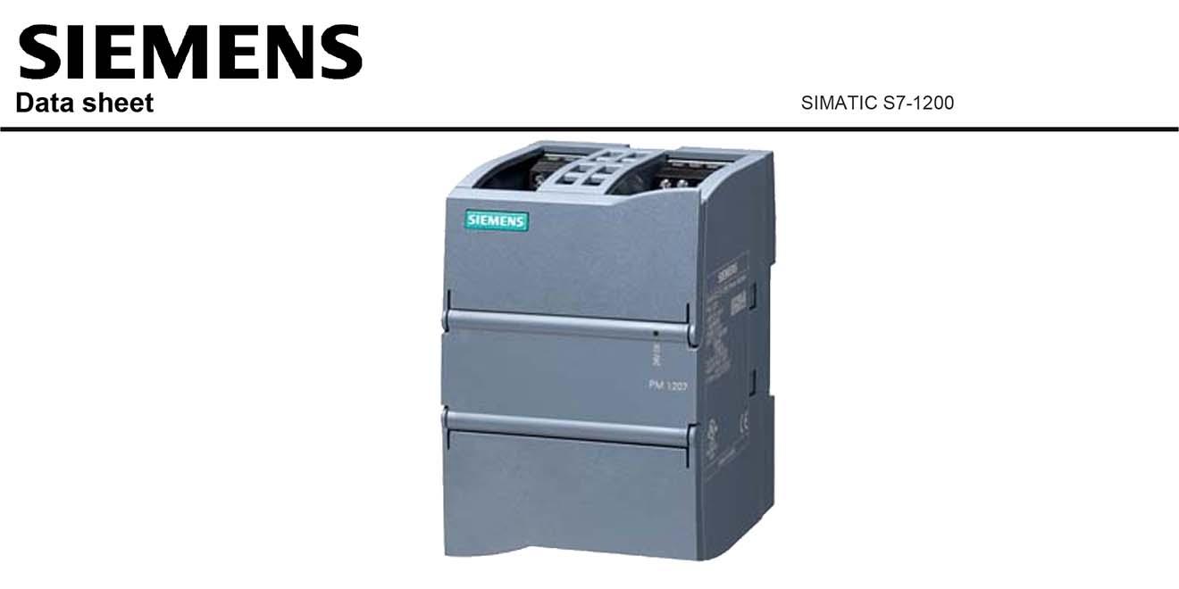 S7-1200 Module Nguồn S7-1200 Siemens