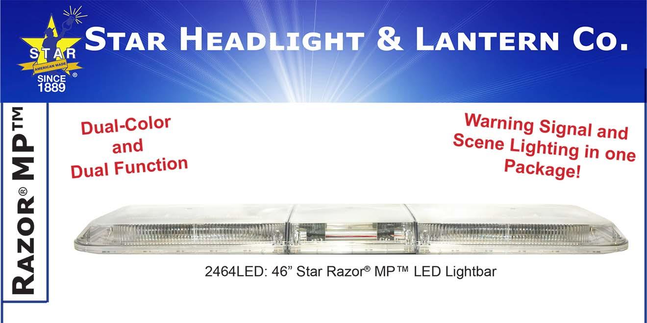 Đèn hộp dài xe ưu tiên Razor M-Tech Plus Lightbar Star Headlight 91-117-142-168 cm