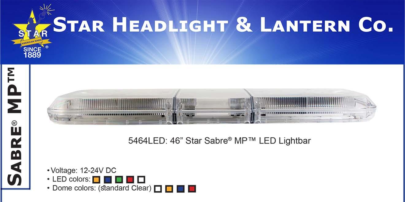 Đèn hộp dài xe ưu tiên Sabre M-Tech Plus Lightbar Star Headlight 91-117-142-168 cm
