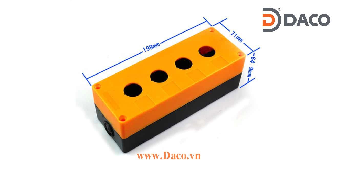 PB-B30 Hộp nút nhấn Tend 1-2-3-4-5 lỗ Φ30