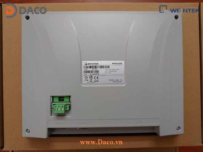 MT8102iE Hình ảnh thực tế Màn hình cảm ứng HMI Weintek 10 Inch Màu LAN COM USB