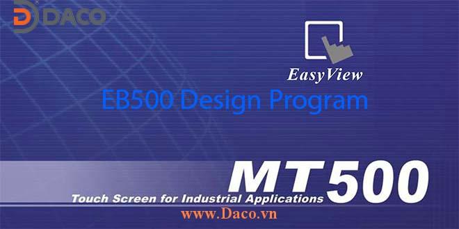 EB500 Phần mềm lập trình HMI Weintek