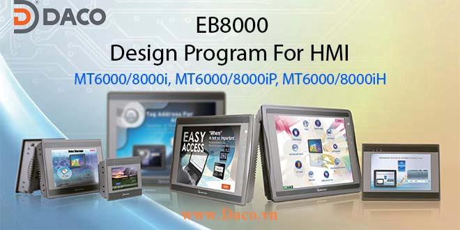 EB8000 Phần mềm lập trình HMI Weintek