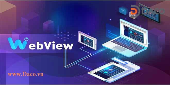 Webview kết nối điều khiển màn hình HMI Weintek qua trình duyệt Web
