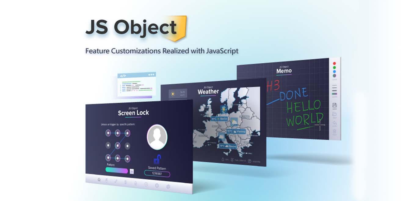 JS Object Các tùy chỉnh tính năng được thực hiện bằng JavaScript-HMI Weintek cMT-X