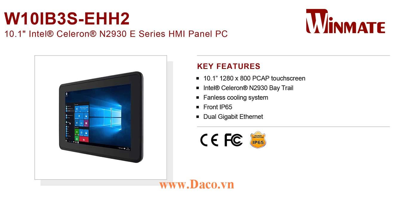 """W10IB3S-EHH2 Màn hình cảm ứng HMI Winmate 10.1"""" 1280 x 800 OS Options"""