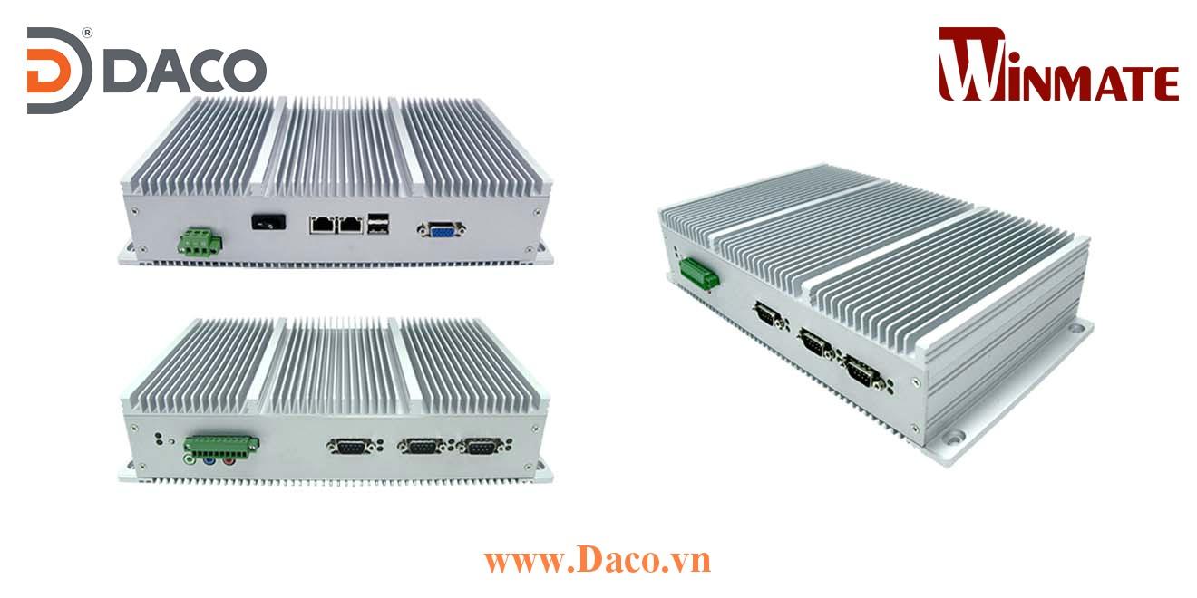 I330EAC-ID3 Máy tính công nghiệp cho ngành hàng hải tàu biển Intel Atom® Dualcore D2550