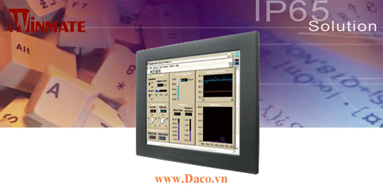 R12T600-IPL1 Màn hình cảm ứng công nghiệp Front IP65 12.1