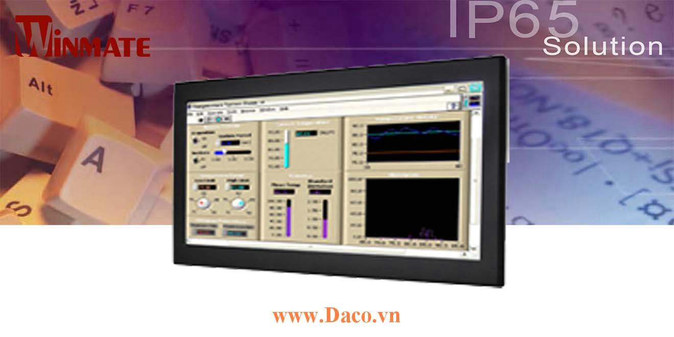 W24L100-IPS1 Màn hình cảm ứng công nghiệp Front IP65 24