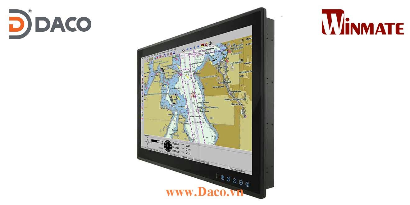 W24L100-MRA1FP  Màn hình phẳng công nghiệp hiển thị cho ngành hàng hải tàu biển 24 Inch