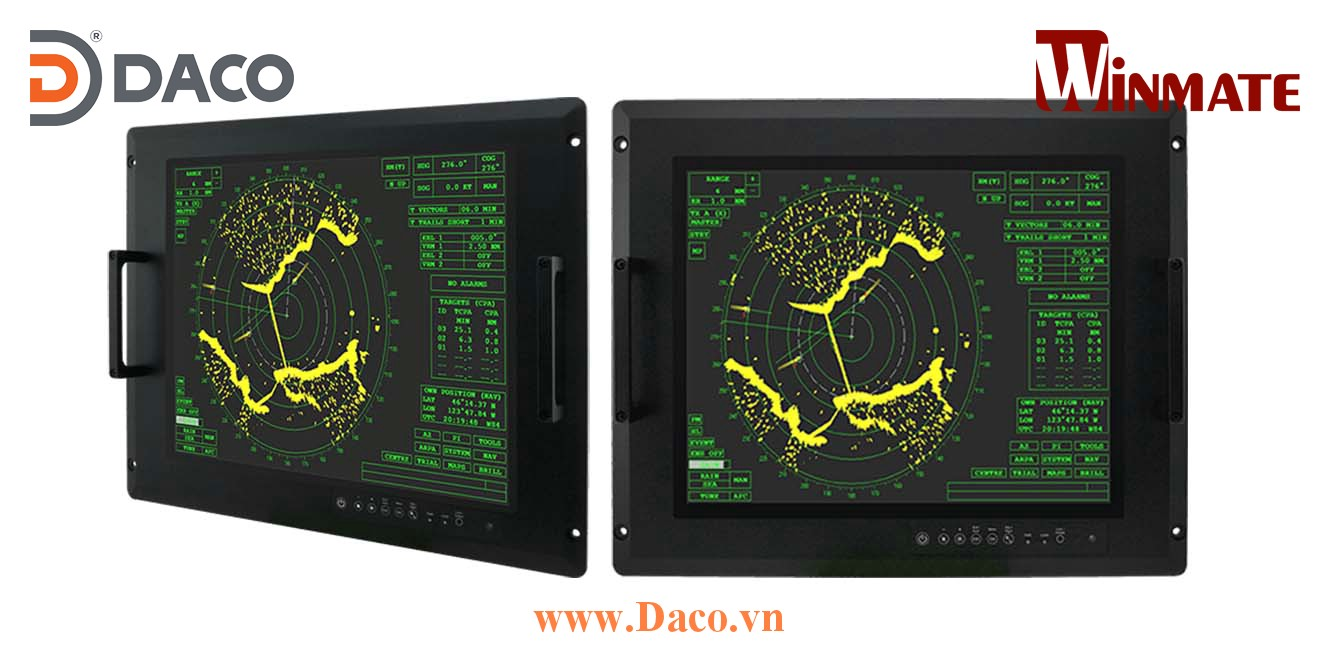 R15L600-MLA3FP Màn hình cảm ứng hiển thị gắn Panel cho quân đội 15 Inch