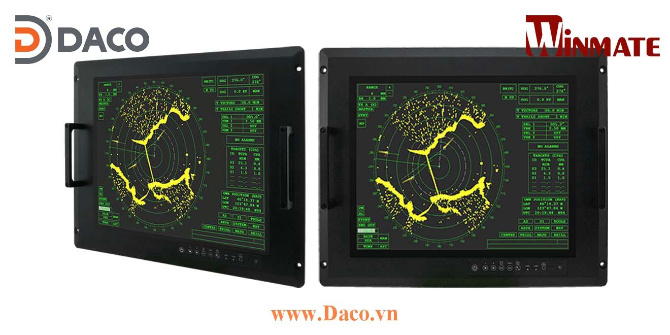 R17L100-RKA1ML Màn hình LCD hiển thị gắn Panel cho quân đội 17 Inch