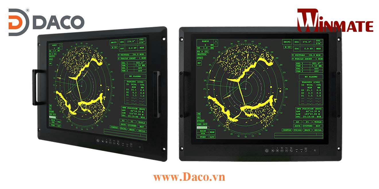 R20L100-RKA2ML Màn hình LCD hiển thị gắn Panel cho quân đội 20 Inch