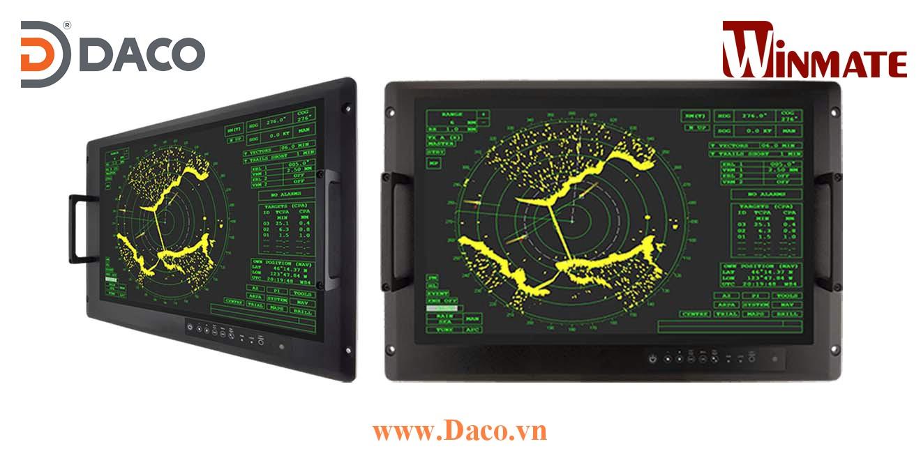 W22L100-MLA3FP Màn hình cảm ứng hiển thị gắn Panel cho quân đội 22 Inch