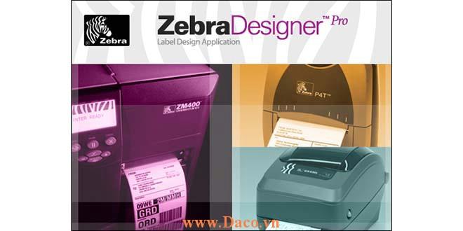Zebra Software Phần mềm máy in tem nhãn mã vạch Zebra