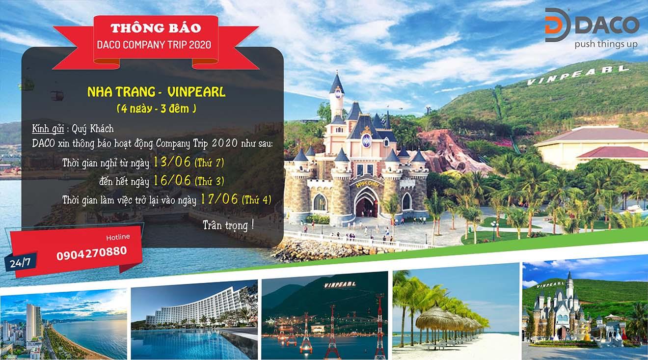 DACO Company Trip Summer 2020: Hoạt động gắn kết Gia đình DACO - Hà Nội - Nha Trang
