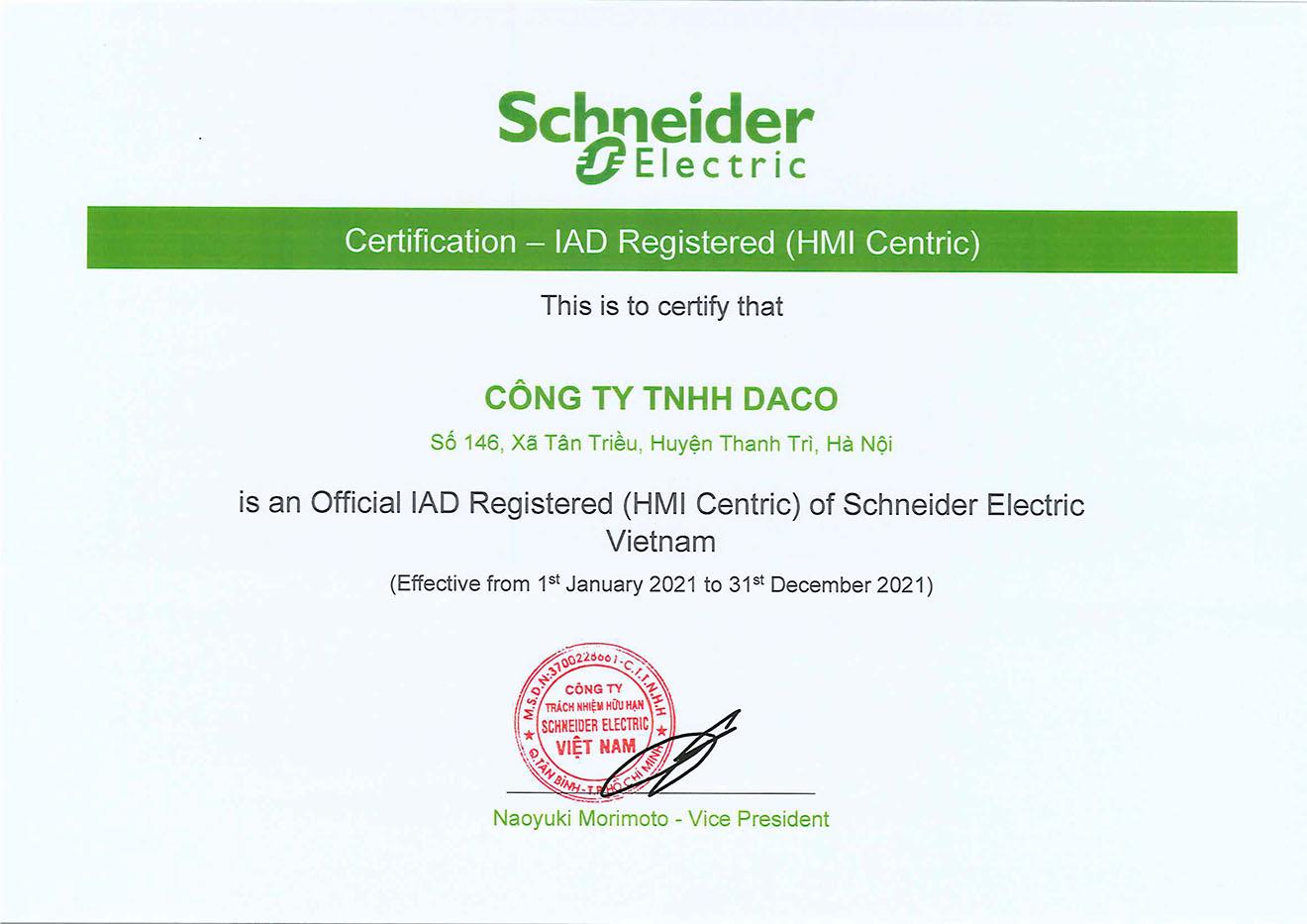 DACO nhà phân phối thiết bị điện tự động hóa công nghiệp tại Việt nam