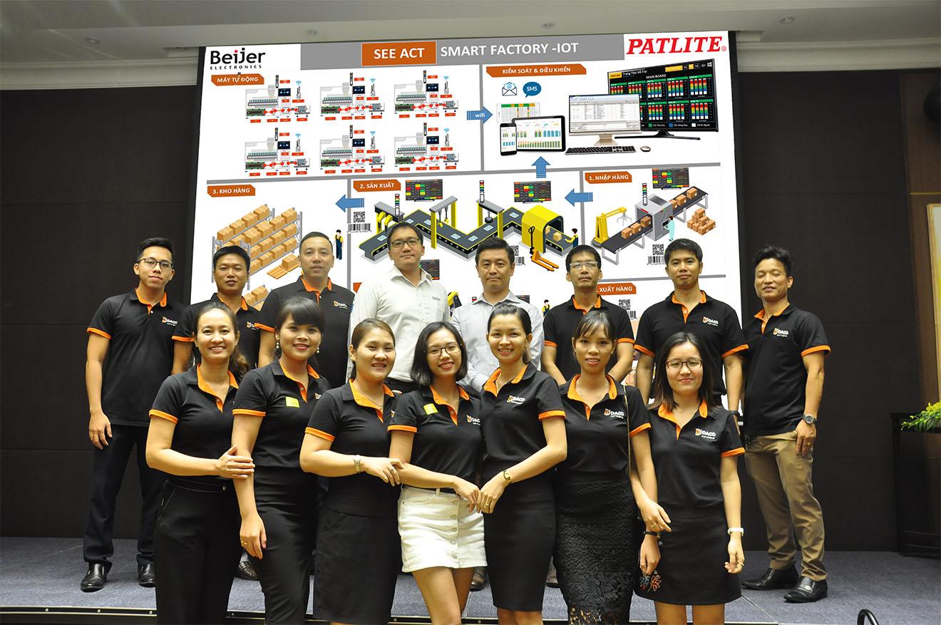 Hội Thảo Smart Factory-Nhà Máy Thông Minh-IoT 4.0-Ứng Dụng Sản Phẩm Beijer & Patlite: Cảm Ơn