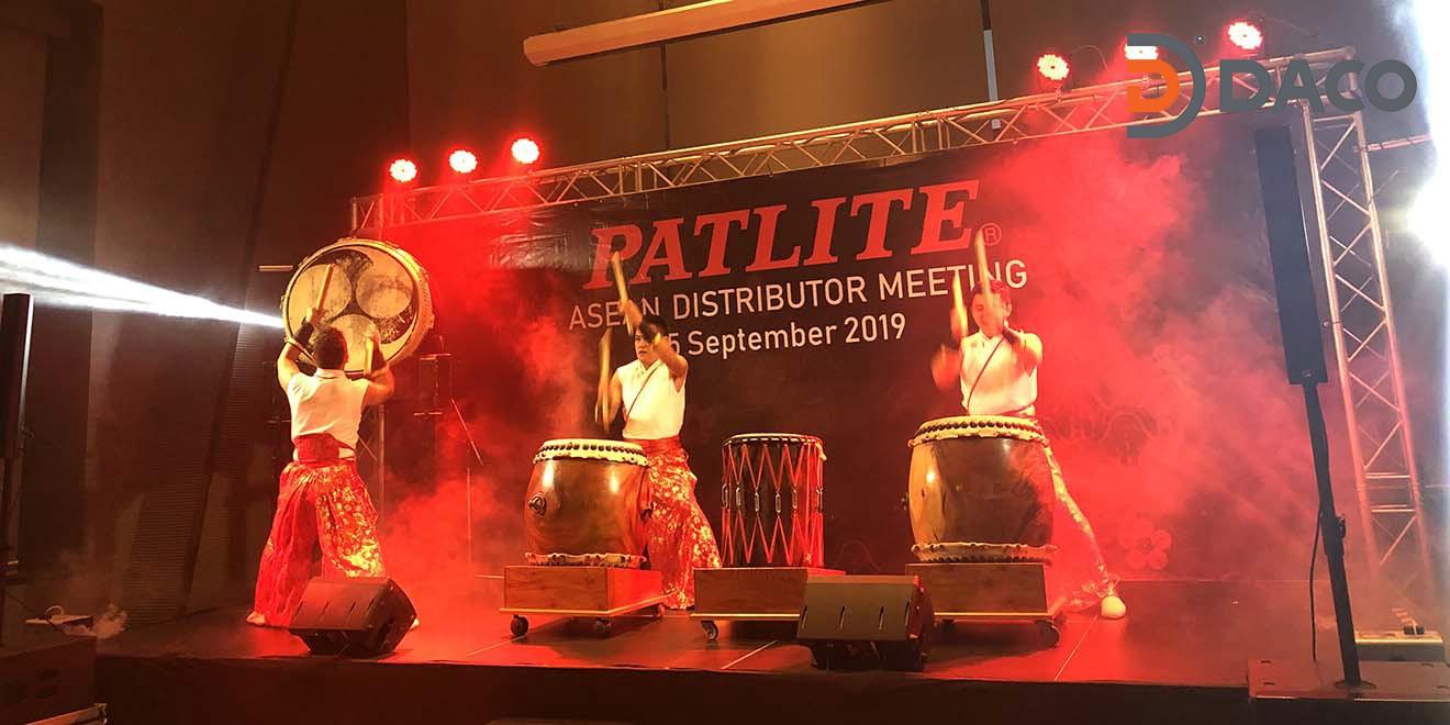 DACO-Hội Nghị Các Nhà Phân Phối Đèn Loa Còi Báo Hiệu Patlite Nhật Bản 2019 tại Bangkok Thái Lan