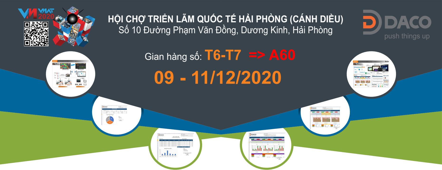 DACO-TRIỂN LÃM CÔNG NGHIỆP & SẢN XUẤT VIỆT NAM 2020-VIMF, HẢI PHÒNG, VIỆT NAM-Hình Ảnh