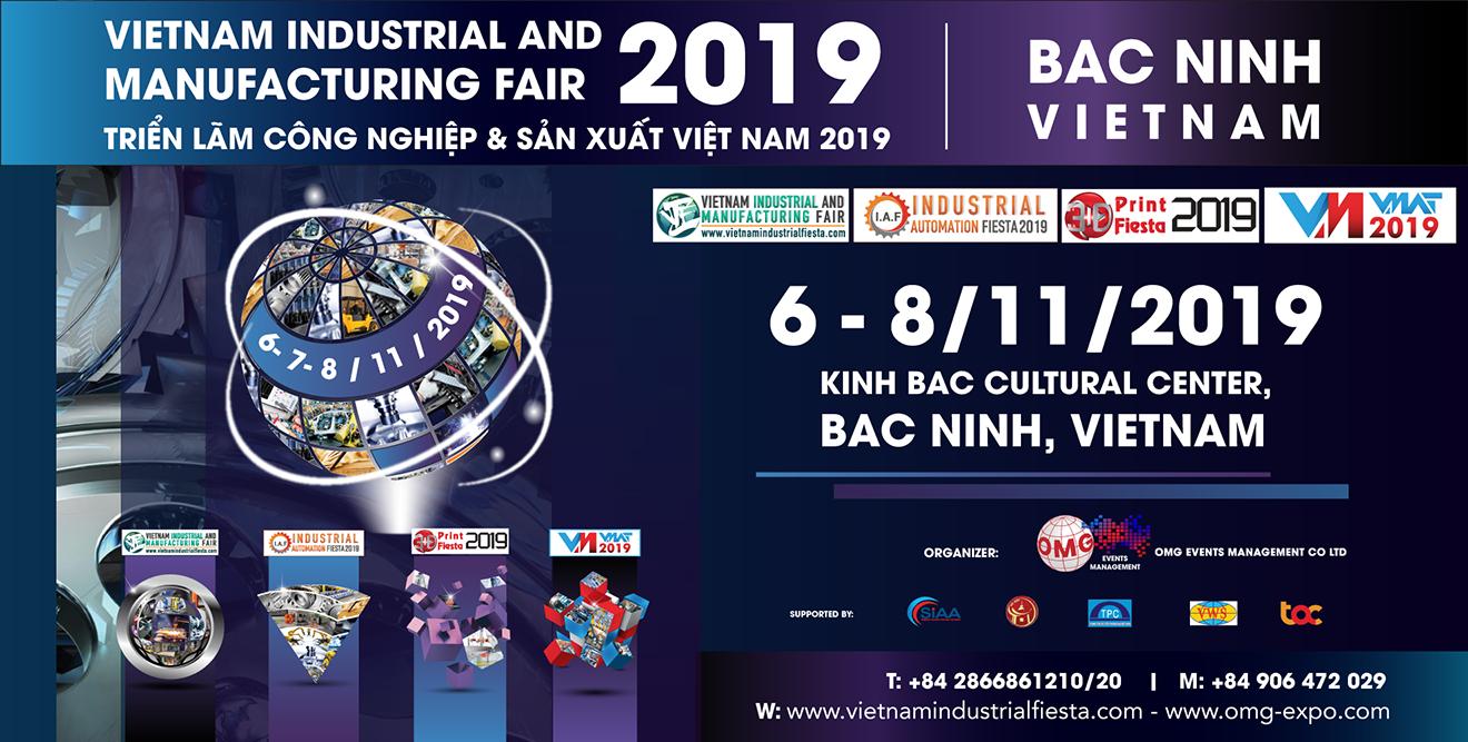 DACO-TRIỂN LÃM CÔNG NGHIỆP & SẢN XUẤT VIỆT NAM 2019-VIMF, BẮC NINH, VIỆT NAM-THƯ MỜI